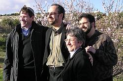 Rabbi Ellen W. Dreyfus with Hartman Institute Rabbinic Fellows